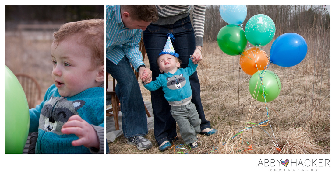 Indianapolis Family Photographer - First Birthday
