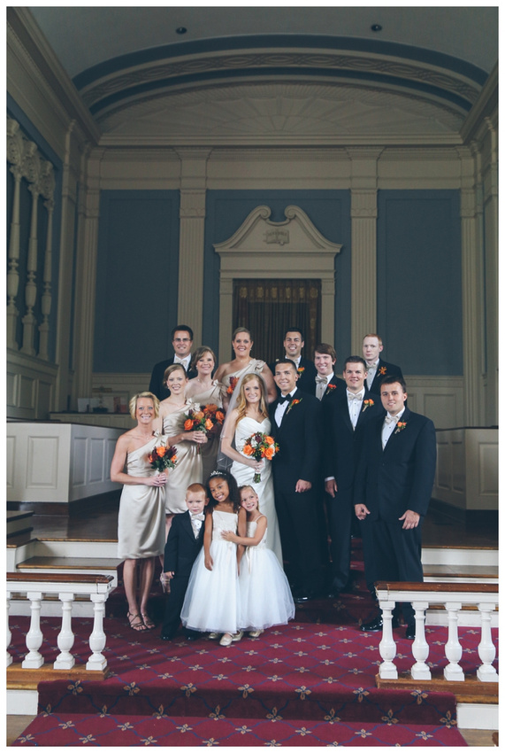 Columbia Club Indianapolis Wedding Photographer